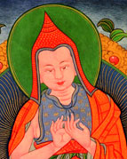 Homage to the buddhas and bodhisattvas, refuge in the three jewels, western buddhist practice